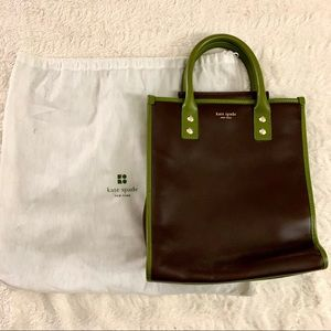 Kate Spade leather top handle bag (vintage)